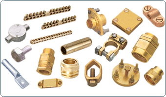Manufacturers, Exporters of Competitive Brass Plumbing, Cable Glands, Hose Fittings, Electrical Components, Screws and Brass Fittings Brass Parts Fittings Brass